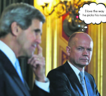 William Hague 'Madly In Love With John Kerry'