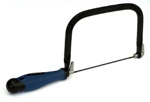A hacksaw