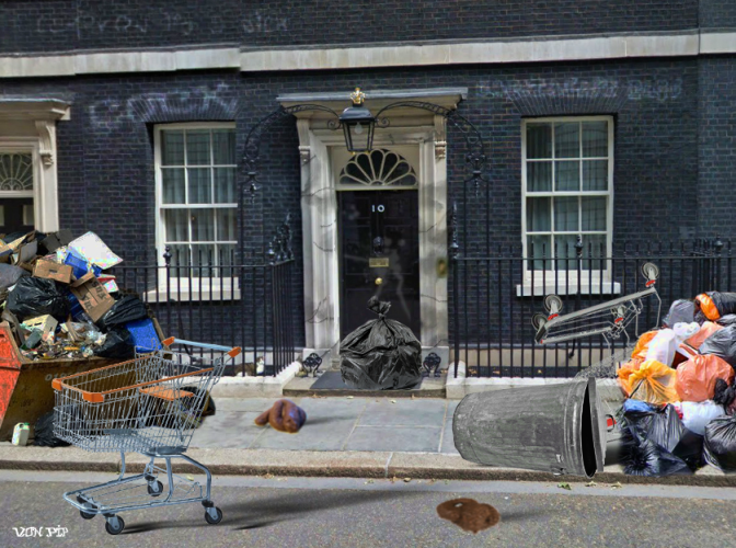 Downing Street on day it wins CRAAAP hygiene rating