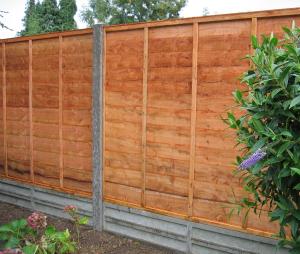 A new garden fence