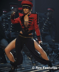 Cheryl Cole looking like Michael Jackson