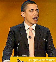 obama at lib dem conference