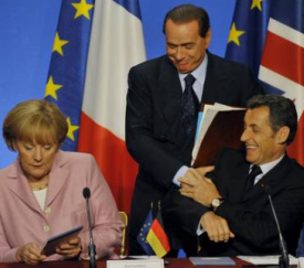 berlusconi tells sarkozy that merkel has smelly fanny
