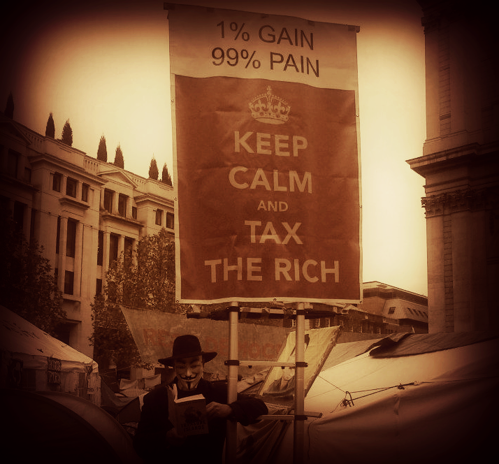 KEEP CALM AND TAX THE RICH