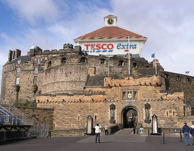 Tesco Castle, Edinburgh