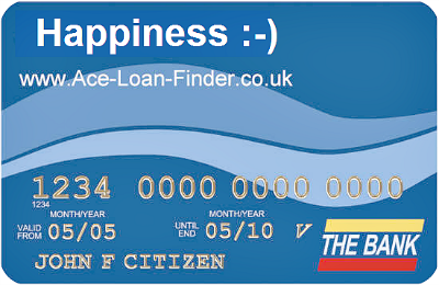 Happiness credit card