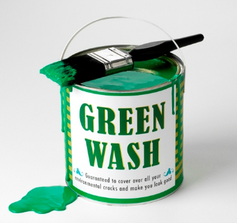 Can of green wash