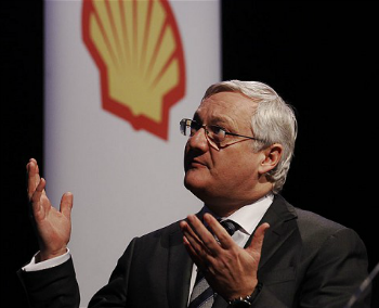 Shell Oils CEO Peter Voser