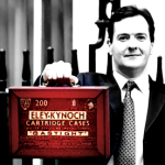 Osborne and his red cartridge case
