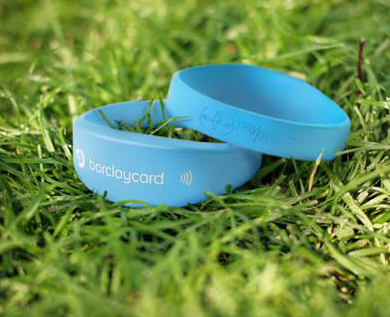 Barclaycard in long grass