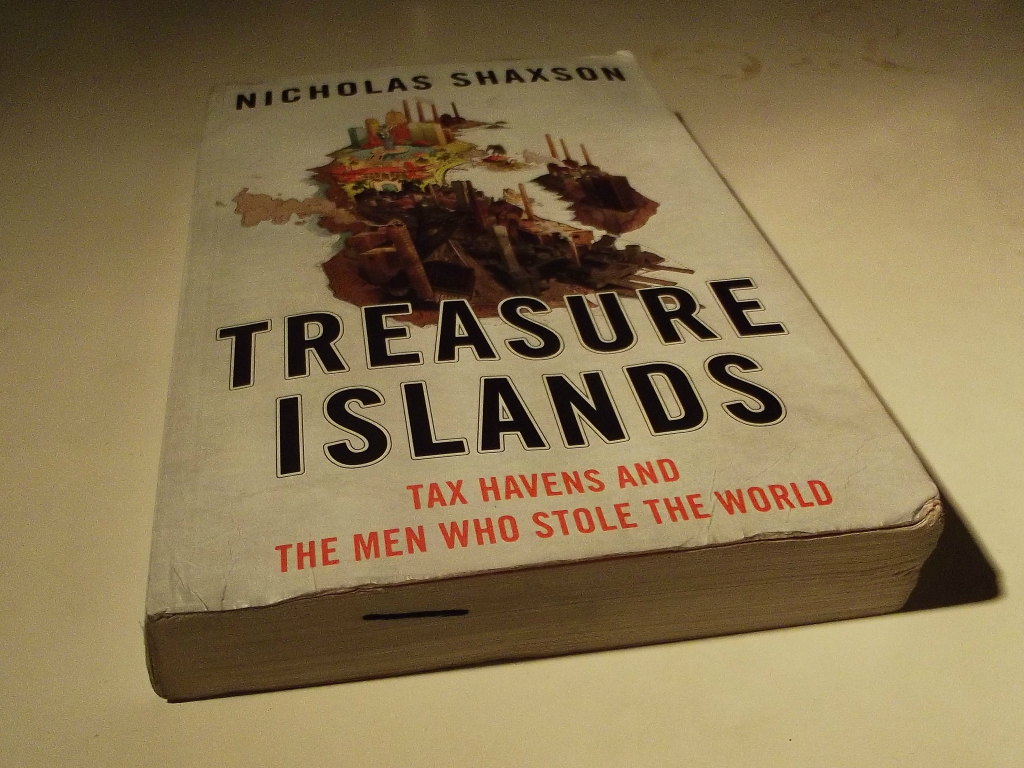 Treasure Islands by Nicholas Shaxon