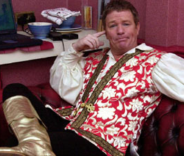 Jim Davidson wearing non-jail uniform