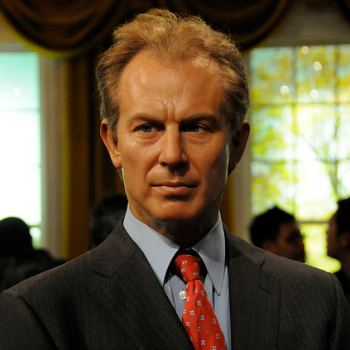 Tony Blair waxwork