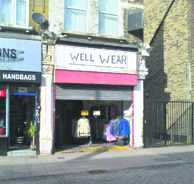 Well wear, Walthamstow