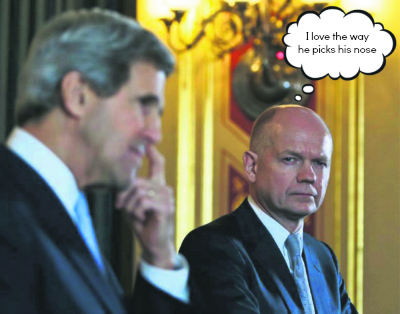 Hague admires Kerry