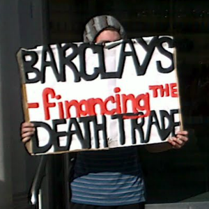 """Barclays - financing the death trade"""