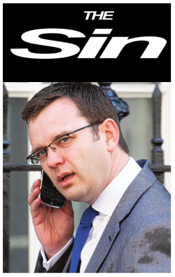 Andy Coulson's new tabloid, The Sin