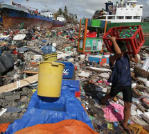 Typhoon Haiyan Victims Thank Politicians For Agreeing To Agree Next Year To Cut Carbon In Seven Years' Time