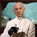 Benjamin Netanyahu does Blofeld