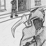 Death visits 10 Downing Street