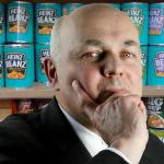 Iain Duncan Smith guarding baked beans
